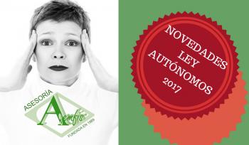 Novedad Ley autónomos 2017